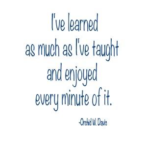 Orchid W. Davis quote