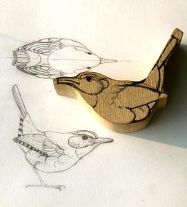 Wren Sketches - Orchid Davis